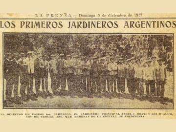 Primeros jardineros argentinos
