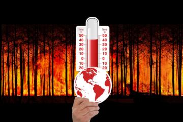 Cambio climatico Imagen de Gerd Altmann en Pixabay